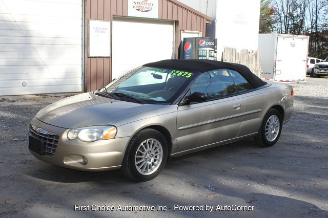 2004 Chrysler Sebring Touring Convertible 4-Speed Automatic